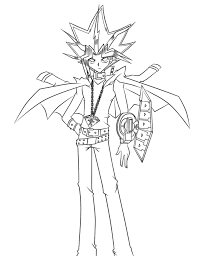 Yami yugi was also a yoyo master. Yami Yugi Again Linework By Lmz0114 On Deviantart