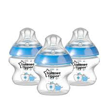 Tommee Tippee Pink Decorated Bottles Tommee Tippee Closer to Nature 100 Pack Decorated 100 Ounce Bottle 62