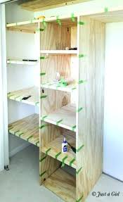 best wood for building shelves post building wood shelves for storage diy wood shelves closet
