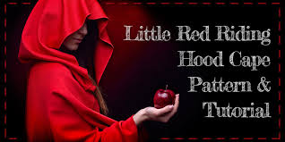 little red riding hood cape pattern