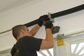 image of garage door spring repair