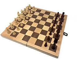 Classic Wooden Board Games Amazon Hansen Games Classic Natural Wood Wooden Chess Set 100 25