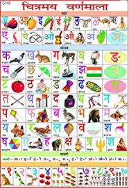 Hindi K Kha Ga Chart With Pictures Oshi Hindi Varnamala Chart 2 Poster Paper 30 48x45 72