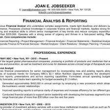 Samples Of Good Resumes Examples Of Resumes Financial Samurai Resume Example Good Intended 16