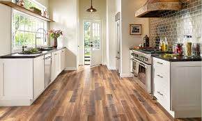 laminate wood flooring in kitchen. Delighful Wood Best BudgetFriendly Kitchen Flooring Options Throughout Laminate Wood In