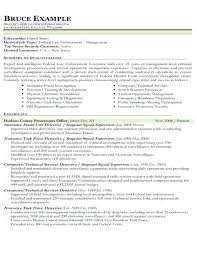 Law Enforcement Resume Examples Blue Collar Resume Blue Collar