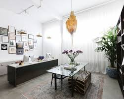 unique home office furniture. example of an eclectic freestanding desk home office design in london with white walls unique furniture f