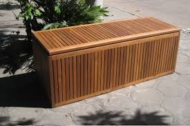 image of patio bench storage box