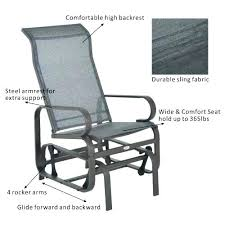 gliding chair ikea best paint for outside rocking decorating interior of your glider outdoor fabric brown glider chair