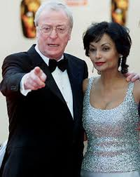young michael caine wife. Contemporary Michael Michael Caine Hintergrund Titled And His Wife Shakira In Young Wife L