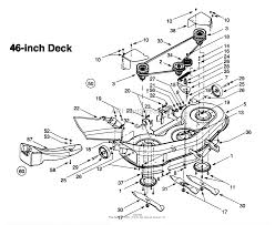 Mtd 13ai609h131 1999 parts diagram for deck assembly h 46 inch endearing enchanting deck diagram
