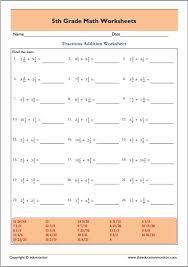 math worksheets – EduMonitor
