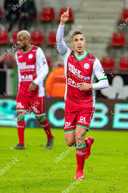 Essevees Gianni Bruno celebrates after scoring during Editorial Stock Photo  - Stock Image