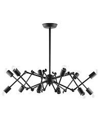 spider black chandelier 1