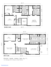 modern two story house plans new modern 2 story house plans small floor plan simple two lrg 15