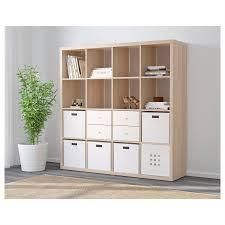 Ikea-Kallax-16-Cube-Storage-Bookcase-Square-Shelving-