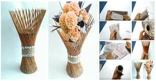 News Paper Flower Vase How To Make Newspaper Flower Vase Tops Fire
