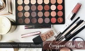 international makeup brands