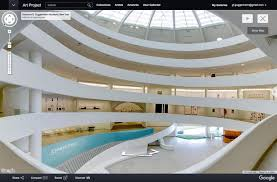 Interior Design Schools In Ny Simple Walk Inside Google Cultural Institute Puts New York's Guggenheim On