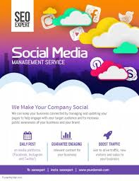 business to business marketing flyers social media business marketing flyer poster template postermywall