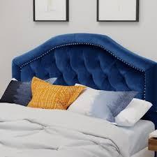 blue upholstered headboard. Interesting Blue Quickview For Blue Upholstered Headboard C