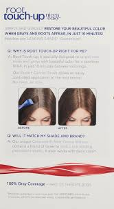 Amazon.com: Clairol Nice 'n Easy Root Touch-Up 4G Matches Dark Golden Brown  Shades 1 Kit, (Pack of 2): Beauty