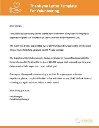 Fundraising Thank You Letter Templates Nonprofit Thank You Letter Templates