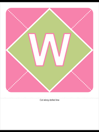 pink welcome welcome baby girl banner pink purple green office templates