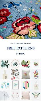 Free Embroidery And Cross Stitch Patterns By Dmc