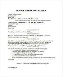 Collection Of Solutions 21 Sample Thank You Letter Templates To Boss
