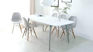 modern white dining room sets modern grey dining table and chairs modern white round table 4