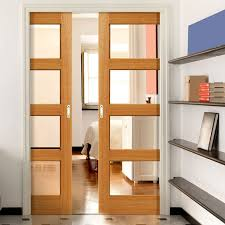 amazing double sliding door double sliding patio door with bookshelves and sofa inspiring