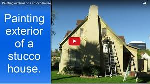 for painting one story stucco house