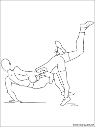 Small Picture Wrestling coloring page Coloring pages