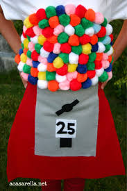 gumball machine costume a casarella