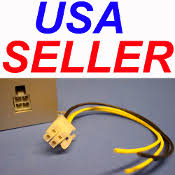 harnesses plugs universal car audio 4 pin plug wire harness