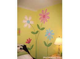 Flower Wall Mural for Girls Bedroom