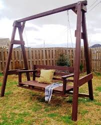 Small Picture DIY Garden Swing Bench Project Our Home Sweet Home
