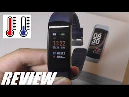 REVIEW: C6T <b>Body Temperature Smart Bracelet</b> Fitness Tracker ...