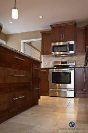 finest maple cabinets with ivory kitchen tile floor morespoons mx17
