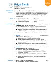 Type A Resume Format 9 Best Resume Formats Of 2019 Livecareer New Type Of