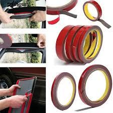COD 2Pcs <b>Professional</b> Auto Adhesive Tape Vehicle <b>Double Sides</b> ...