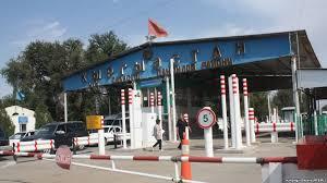 Кыргызстан закрывает ряд КПП на границе с Казахстаном в связи с  Контрольно пропускной пункт на границе Кыргызстана с Казахстаном
