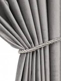 Купить <b>комплект штор</b> «Бруад (серый)» серый/черный по цене ...