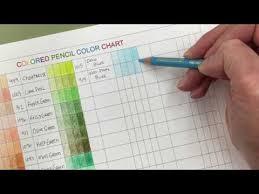 Prismacolor Pencil Blank Color Chart Colored Pencil Color Chart And Coloring Tips Karla