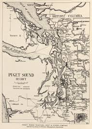 Puget Sound Power And Light Company Mcgraw Electric Railway Manual Perry Castañeda Map