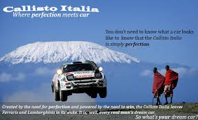 advertisement essay vineet s blog my advertisement advertises a car the car s is callisto italia and the advertisement shows a picture taken from a rally event in africa