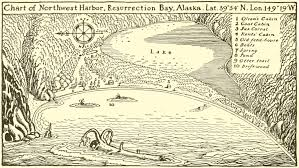 Resurrection Bay Chart The Wild Alaskan Island That Inspired A Lost Classic Atlas
