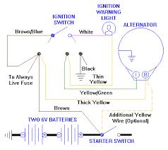 generator to alternator conversion Delco Tractor Alternator Wiring Diagram control box removed