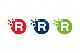 Letter R Designs Stock Vector Andreasandwhite72 91865756